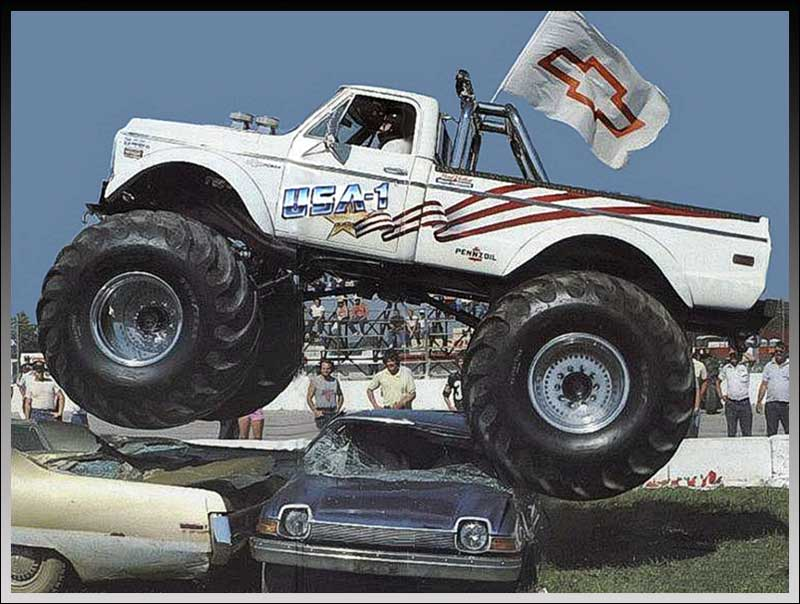 Burns Truck Center >> Kyosho USA-1 Nitro Crusher 4WD | Classic and Vintage RC ...