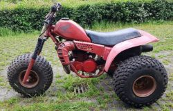 A picture of the original Honda ATC 250R of 1981: